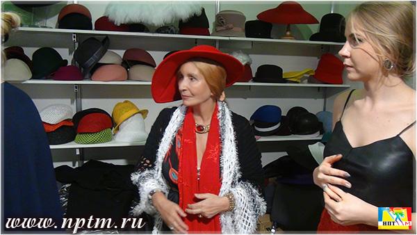 Мария Карпинская в разных шляпах и головных уборах - в разных образах. Фоторепортаж студии Марии Карпинской