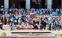 Большой Адмиралтейский Царь-Якорь - 7 дней на Поклонной горе. Фоторепортаж студии Марии Карпинской.