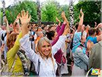 Табор уходит в небо. День независимости Индии в Москве 14 августа 2016.