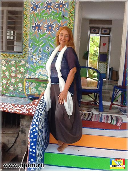 Мария Карпинская в Индии.
