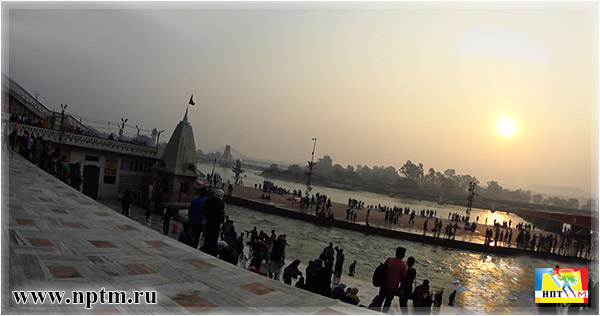 Как Мария Карпинская посетила Ашрам Шантикунж на Севере Индии. Харидвар. Фото Нового планетарного телевидения М