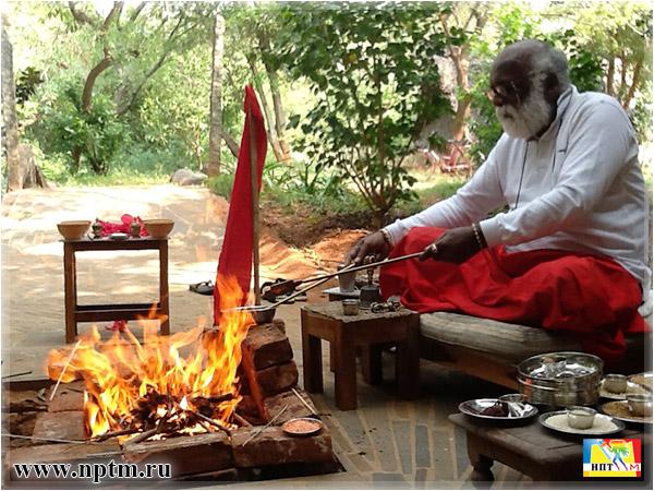 Ягьи в Индии. В гостях у Шри Ламы. Фото Нового планетарного телевидения М