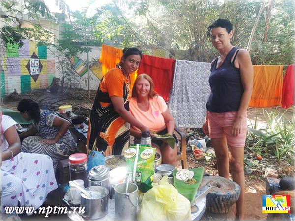 Мария Карпинская в доме своём и своего друга - последователя Учения Шри Ауробиндо и Матери - Амбашанкары