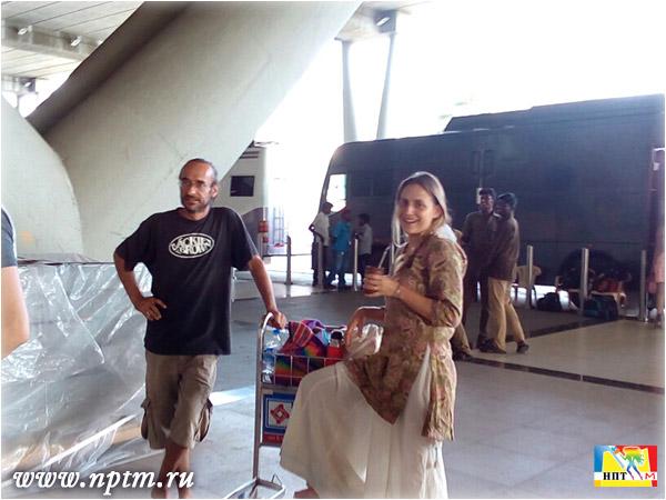 Съемки Марии Карпинской в индийском кино