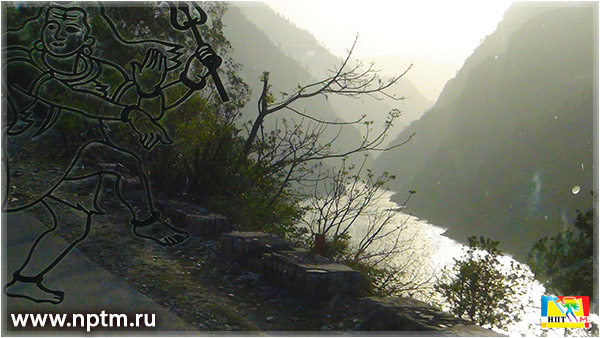 Путешествие Марии Карпинской по Индии 2018. Красивая дорога из Дели в Манали. Фоторепортаж студии Марии Карпинской