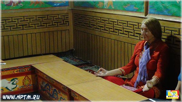 Мария Карпинская в Гималаях. Гадан Текчоклинг Гомпа - Буддистский монастырь в Старом Манали. Долина Богов - Куллу. Штат Химачал-Прадеш. 2018. Фоторепортаж Марии Карпинской