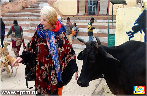 Путешествие Марии Карпинской по Индии 2019. Варанаси. Фоторепортаж студии Марии Карпинской