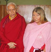 Мария Карпинская и Самдонг Ринпоче