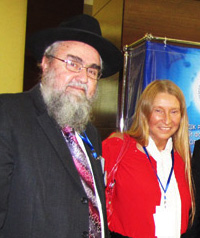 Мария Карпинская и Моше-Шломо Амар