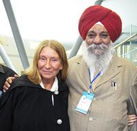 Мария Карпинская и Раи Сингх.