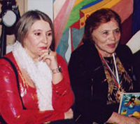 Мария Карпинская и Марина Лаврентьевна Попович