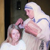 Мария Карпинская и Мать Тереза
