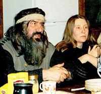 Мария Карпинская и Рядинский Анатолий Васильевич.