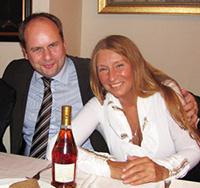 Мария Карпинская и Дирк Хильберт