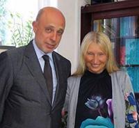 Мария Карпинская и Александр Горелик