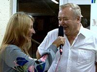 Мария Карпинская берет интервью у Сергея Проханова