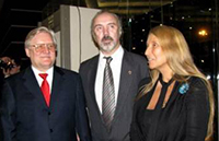 Мария Карпинская, Юрий Доронин и Юрий Кара.