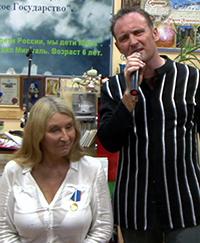Мария Карпинская и Владимир Жуков