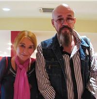 Мария Карпинская и Юрий Кулаков