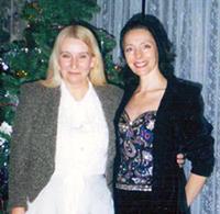 Мария Карпинская и Галина Мезенцева