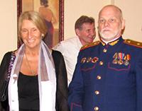 Мария Карпинская и Владимир Петрович Податев