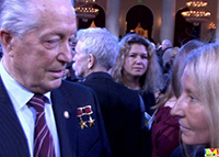 Мария Карпинская и Владимир Аксёнов