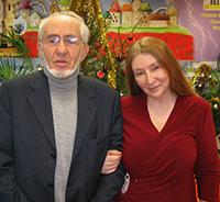 Мария Карпинская и Леонид Яковлевич Береславский