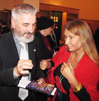 Мария Карпинская и Николай Ляпко
