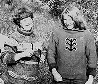 Мария Карпинская и Регина Семёновна Карпинская