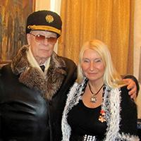 Мария Карпинская и Яков Захарович Месенжник