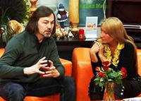 Мария Карпинская и Никас Сафронов