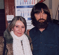 Мария Карпинская и Фёдор Конюхов
