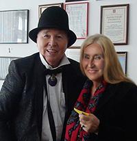 Мария Карпинская и Вячеслав Зайцев