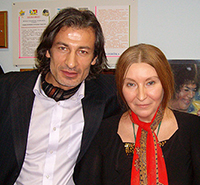 Мария Карпинская и Мухтар Гусенгаджиев
