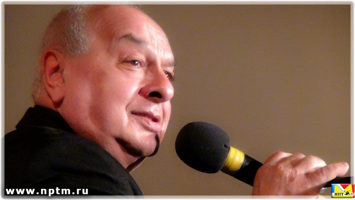 Левон Оганезов на вечере Николая Никитского