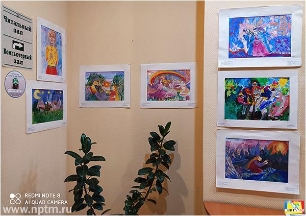 Открытие международной выставки детского рисунка «Мир глазами детей» 2020, Автор проекта Мир глазами детей Мария Карпинская, организатор Новое планетарное телевидение.