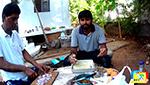 Приготовление индийской пароты на костре в режиме life