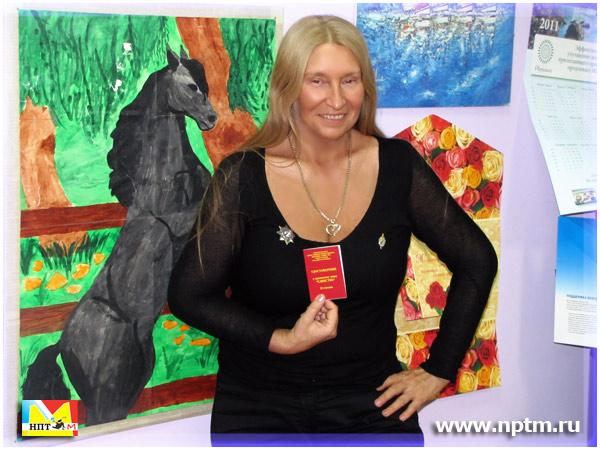 Мария Карпинская была награждена орденскими знаками «Единство» II степени