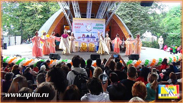 День Независимости Индии. Москва, Новое Планетарное Телевидение М, 2015
