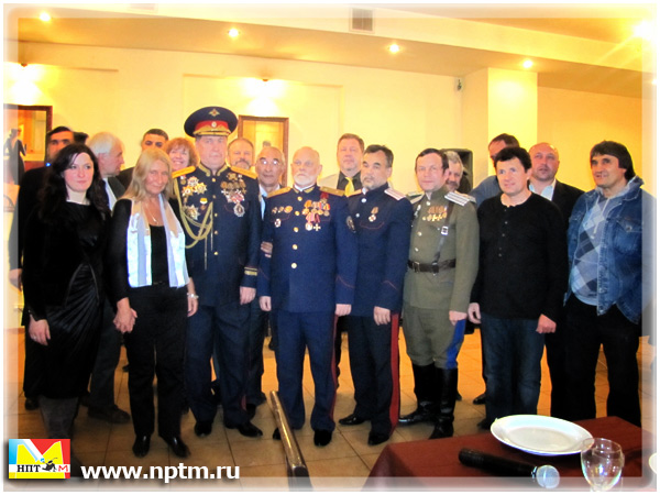 День рождения Владимира Податева. Мария Карпинская