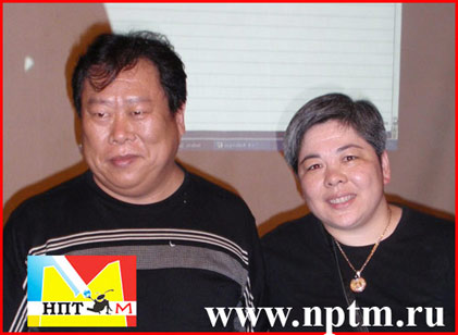 Наяна Ин и Чжун Юань Цигун в студии Марии Карпинской НПТМ
