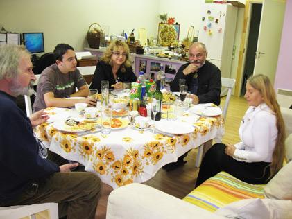 Представители Израиля и Европалаты на студии НПТМ