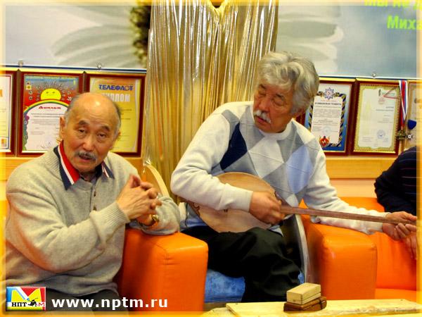Ногон Шумаров в студии Марии Карпинской НПТМ