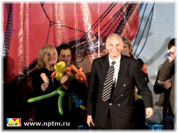 НПТМ на открытии Международного детского кинофестиваля «Кинокадрик» 2011