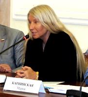 Мария Карпинская в Совете Федераций