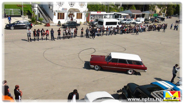 Новый Афон, Республика Абхазия. Автофестиваль ENERGY DRIVE 2012