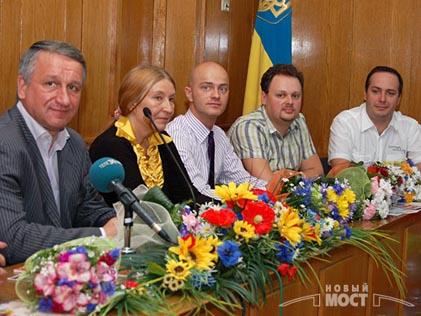Мария Карпинская и Иван Иванович Куличенко