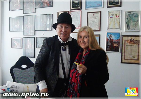 Мария Карпинская и Вячеслав Зайцев. проект Марии Карпинской Всё дело в шляпе