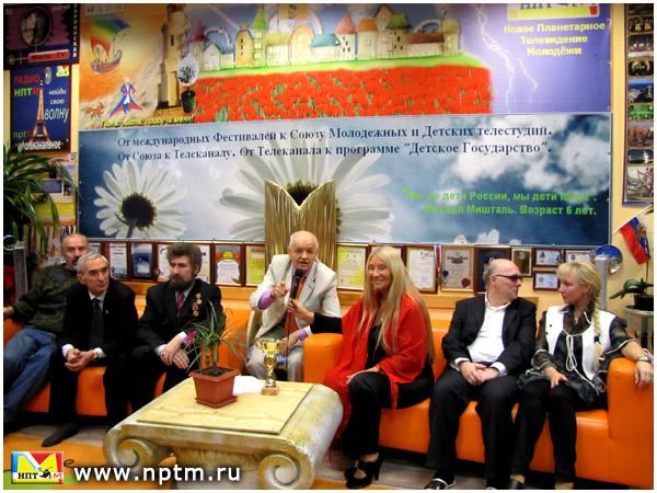Черепков Виктор Иванович в студии Марии Карпинской НПТМ