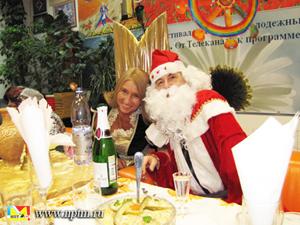 Мария Карпинская Вячеслав Трофимов в Новый год 2011 на НПТМ